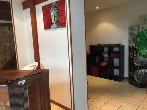 Salle d'attente - Massage Bien-être